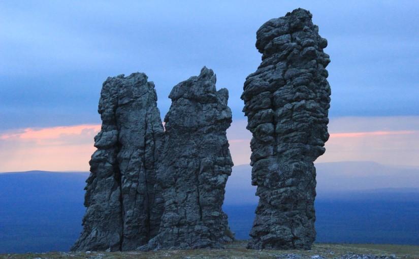 Столбы выветривания в Коми – нерукотворный памятник