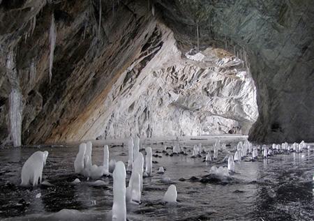 ледяной провал - рускеала